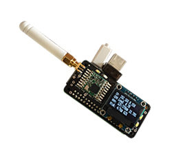 Un raspberry Zero, un LCD et LoRa pour recevoir des données rfm95