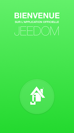 Jeedom Mobile welcome