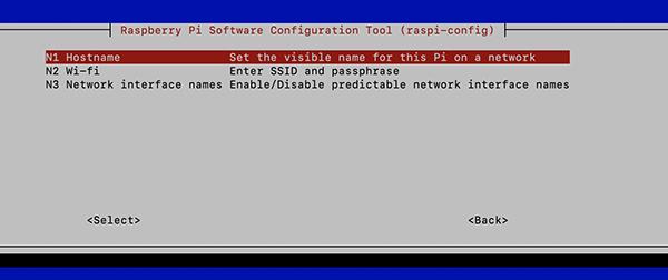 Raspberry Pi4 Hostname