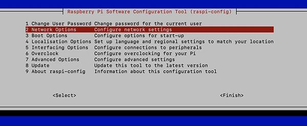 Raspberry Pi4 Netwrok Option